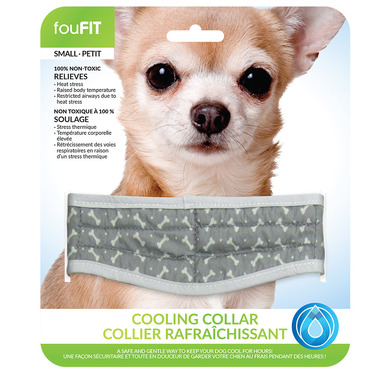 FouFit Cooling Collar Small Blue