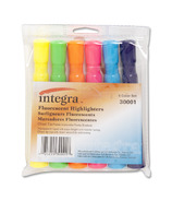 Integra Chisel Tip Desk Highlighters