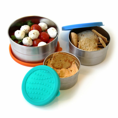 ECOlunchbox Blue Water Bento Seal Cup Trio