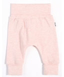 petit lem Heather Pink Grow With Me Pant 0M-24M