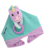 Malarkey Kids Buddy Bib 3-in-1 Sensory Teething Toy & Bib Unicorn
