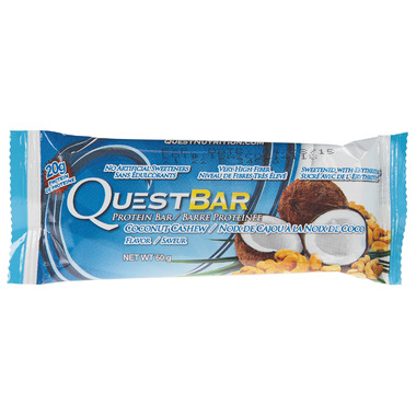 Quest Natural Coconut Cashew Protein Bar