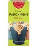 PaperChef Parchment Tulip Baking Cups Multi Coloured