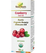 New Roots Herbal Certified Organic Cranberry Seed Oil