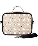 SoYoung Raw Linen Bunny Tile Lunch Box