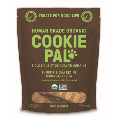 CookiePal Dog Biscuits Pumpkin and Chia Recipe