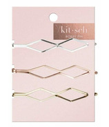 kitsch Metal Bobby Pins Diamond