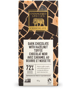 Endangered Species Natural Dark Chocolate Bar with Hazelnut Toffee