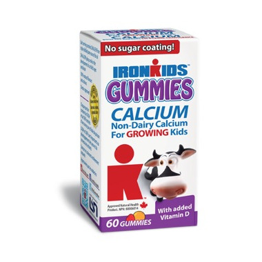 IronKids Gummies Calcium with Vitamin D for Kids