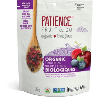Patience Fruit & Co. Organic Fruit Blend Cranberry, Blueberry & Tart Cherry