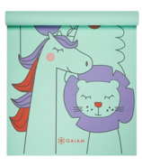 Gaiam Kids 3mm Printed Yoga Mat Animal Surprise