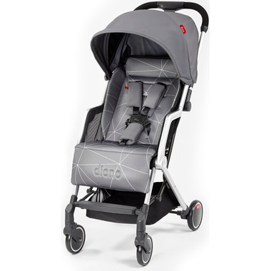 Diono Traverze Travel Stroller Grey Linear