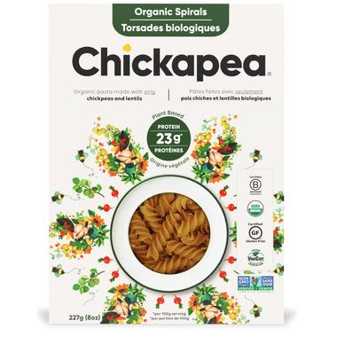 Chickapea Organic Spirals Pasta