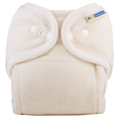 Mother ease One Size Cloth Diaper Unbleached