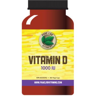 Pure Lab Vitamins Vitamin D 1000 IU