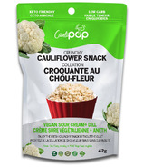 Caulipop Crunchy Cauliflower Snack Vegan Sour Cream & Dill