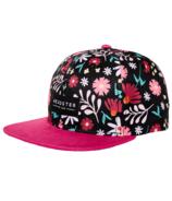 Headster Kids Snapback Hat Flower Child Fuchsia