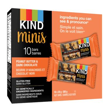 KIND Mini Bars Peanut Butter & Dark Chocolate