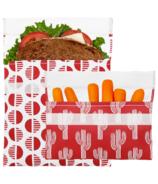 Lunchskins Reusable Bag Set Desert