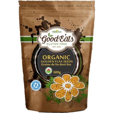 Pilling Foods Good Eats Gluten Free Organic Golden Flaxseeds