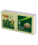 Post-it Greener Pop-Up Notes Pads Assorted Colours