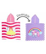Flapjack Kids Reversible Cover Up Fairy & Unicorn