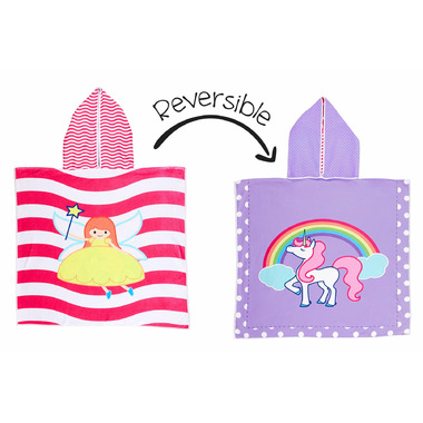 3b9d63c3e Flapjack Kids Reversible Cover Up Fairy & Unicorn