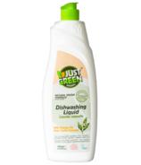 Just Green Organic Dishwashing Liquid + Orange Oil