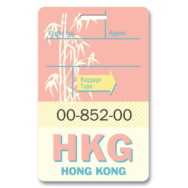 Smitten Kitten Hong Kong Luggage Tag