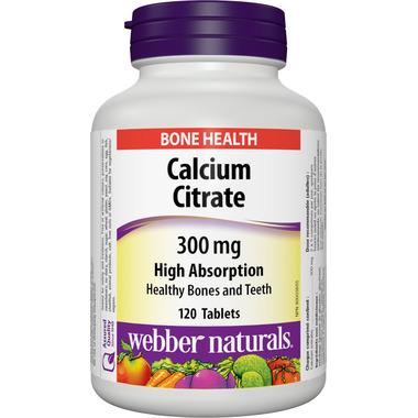 Webber Naturals Calcium Citrate Tablets