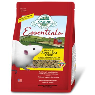 Oxbow Essentials Regal Rat Adult Rat Food