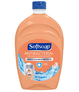 Softsoap Antibacterial Liquid Hand Soap Refill Crisp Clean