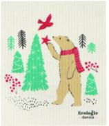 Now Designs Ecologie Swedish Sponge Cloth Winter Wilderland