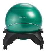 Gaiam Backless Balance Ball Chair Green