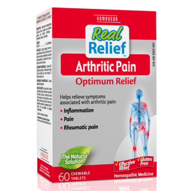 Homeocan Real Relief Arthritic Pain Optimum Relief