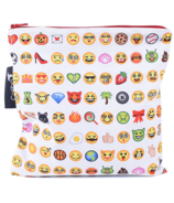 Colibri Reusable Snack Bag Large Emoji
