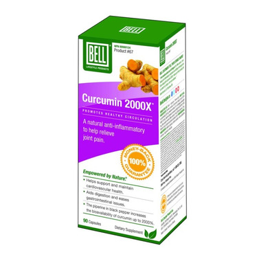 Bell Lifestyle Products Curcumin 2000X