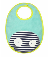 Lassig Little Monsters Waterproof Medium Bib Bouncing Bob