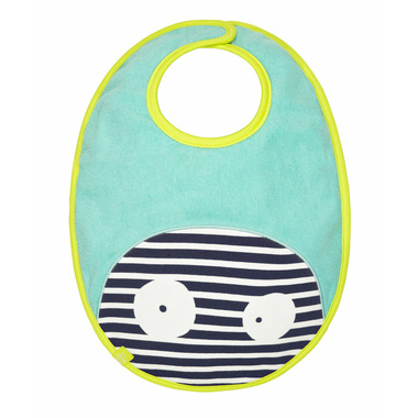 Lassig Little Monsters Waterproof Medium Bib Bouncing Bob