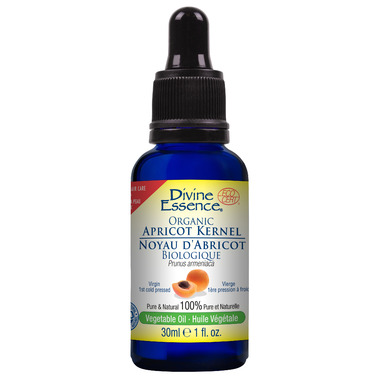 Divine Essence Organic Apricot Kernel Vegetable Oil