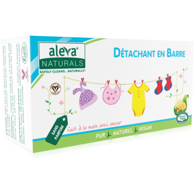 Aleva Naturals Stain & Laundry Bar Fragrance Free