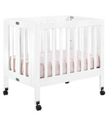 Babyletto Origami Collapsible Mini Crib White
