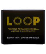 LOOP Pineapple Activated Charcoal Soap