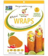 NewGem Foods GemWraps Roulés Entièrement Naturels Mangue Chipotle