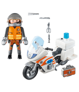 Playmobil City Life moto d'urgence