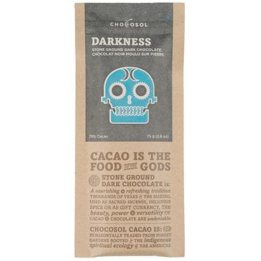 ChocoSol Darkness Stone Ground Dark Chocolate
