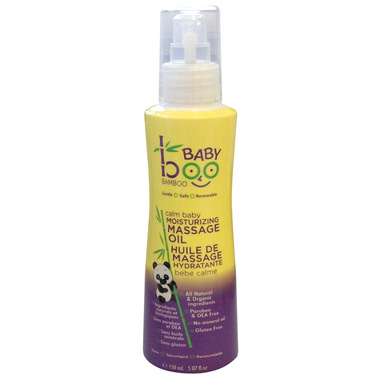 Boo Bamboo Baby Calm Baby Moisturizing Massage Oil