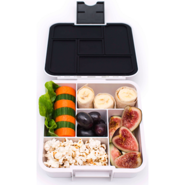 Little Lunch Box Co. Bento 5 White Monochrome
