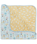 Loulou Lollipop Muslin Quilt Blanket Up Up Away