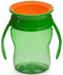 Wow Cup Baby Tritan 360 Spill-Free with Handles Green